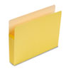"Smead® 3 1/2"" Exp Colored File Pocket, Straight Tab, Letter, Yellow SMD73233"
