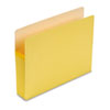 "Smead® 5 1/4"" Exp Colored File Pocket, Straight Tab, Letter, Yellow SMD73243"