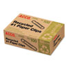 ACCO Recycled Paper Clips, Smooth, #1, 100/Box, 10 Boxes/Pack ACC72365