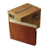 "Smead® 1 3/4"" Exp File Pocket, Straight Tab, Letter, Manila/Redrope, 50/Bx SMD73800"