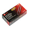 ACCO Premium Paper Clips, Smooth, Jumbo, Silver, 100/Box, 10 Boxes/Pack ACC72500