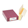"Smead® 3 1/2"" Exp Straight Tab File Pockets w/Tyvek, Legal, Manila, 10/Bx SMD76164"