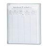 Smead® Poly String & Button Envelope, 9 3/4 x 11 5/8 x 1 1/4, Clear, 5/Pack SMD89540
