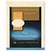 Southworth® Parchment Specialty Paper, Copper, 24lb, 8 1/2 x 11, 100 Sheets SOUP894CK336