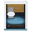 Southworth® Parchment Specialty Paper, 24lb, 8 1/2 x 11, Gray, 100 Sheets SOUP974CK336