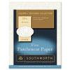 Southworth® Parchment Specialty Paper, Ivory, 24lb, 8 1/2 x 11, 100 Sheets SOUP984CK336