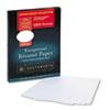 Southworth® 100% Cotton Resume Paper, 32lb, 95 Bright, 8 1/2 x 11, White, 100 Sheets SOURD18CF