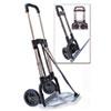 bugatti Portable Slide-Flat Cart, 275lbs, 18 3/4 x 19 x 40, Black/Chrome STB390009CHR