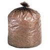 Stout® Eco-Degradable Plastic Trash Garbage Bag, 39gal, 1.1mil, 33 x 44, Brown, 40/Box STOG3344B11
