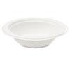 "Savannah Bagasse Disposable 16oz Bowls - 16 fl oz 6"" Diameter Bowl - Bagasse - Microwave Safe - 50 P SVAL010"