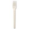 """NatureHouse® Compostable CPLAWare Fork, 6"""" Length, White, 50/Pack SVARP05"""
