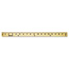 <strong>Westcott®</strong><br />Wood Yardstick with Metal Ends, 36""