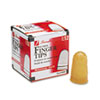 <strong>Swingline®</strong><br />Rubber Finger Tips, 12 (Medium-Large), Amber, Dozen