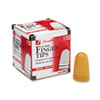 Rubber Finger Tips, 11 1/2 (Medium), Amber, Dozen