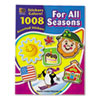 Teacher Created Resources Sticker Book, For All Seasons, 1,008/Pack TCR4224