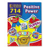 Teacher Created Resources Sticker Book, Positive Power, 714/Pack TCR4225
