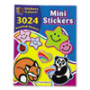 Teacher Created Resources Sticker Book, Mini Size, 3,024/Pack TCR4228