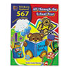 Teacher Created Resources Sticker Book, All Through the School Year, 567/Pack TCR4229