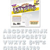 """<strong>TREND®</strong><br />Ready Letters Sparkles Letter Set, Silver Sparkle, 4""""h, 71/Set"""