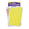 TREND® SuperSpots and SuperShapes Sticker Variety Packs, Neon Smiles, 2,500/Pack TEPT1942