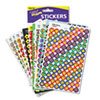 TREND® SuperSpots and SuperShapes Sticker Variety Packs, Assorted Designs, 5,100/Pack TEPT46826