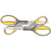 "<strong>Westcott®</strong><br />Titanium Bonded Scissors, 8"" Long, 3.5"" Cut Length, Gray/Yellow Straight Handles, 2/Pack"