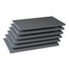 "Tennsco Industrial Steel Shelving for 87"" High Posts, 36w x 24d, Medium Gray, 6/Carton TNN6Q23624MGY"