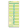 TOPS® Time Card for Lathem, Bi-Weekly, Two-Sided, 3 1/2 x 9, 500/Box TOP1275