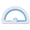 <strong>Westcott®</strong><br />Soft Touch School Protractor With Microban Protection, Assorted Colors