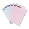 TOPS® Prism Plus Colored Legal Pads, 5 x 8, Pastels, 50 Sheets, 6 Pads/Pack TOP63016
