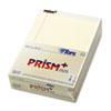 TOPS® Prism Plus Colored Legal Pads, 8 1/2 x 11 3/4, Ivory, 50 Sheets, Dozen TOP63130