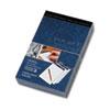 TOPS Docket Diamond, Premium Stationery Tablet, White, 50 Sheet/Pad, 4 Pad/Box - 50 Sheets - Printed TOP63981