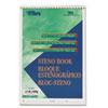 Gregg Steno Books, Gregg Rule, 6 x 9, Green Tint, 60 Sheets