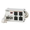 Tripp Lite ISOBAR4ULTRA Isobar Surge Suppressor, 4 Outlets, 6 ft Cord, 3330 Joules TRPISOBAR4ULTRA