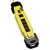 <strong>Tripp Lite</strong><br />Power It! Safety Power Strip, 6 Outlets, 9 ft Cord and Clip, GFCI Plug