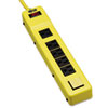 Power It! Safety Power Strip, 6 Outlets, 6 ft Cord and Clip, Safety Covers