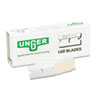 Unger® Safety Scraper Replacement Blades, #9, Stainless Steel, 100/Box UNGSRB10