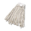 <strong>Boardwalk®</strong><br />Cut-End Wet Mop Head, Cotton, No. 24, White