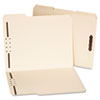 <strong>Universal®</strong><br />Deluxe Reinforced Top Tab Folders with Two Fasteners, 1/3-Cut Tabs, Letter Size, Manila, 50/Box