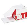 Universal® Computer Paper, 20lb, 9-1/2 x 11, Letter Trim Perforations, White, 2400 Sheets UNV15802