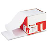 Universal® Computer Paper, 15lb, 9-1/2 x 11, Letter Trim Perforations, White, 3300 Sheets UNV15806