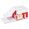 Universal® Computer Paper, 20lb, 9-1/2 x 11, Letter Trim Perforation, White, 2300 Sheets UNV15807