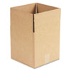 General Supply Brown Corrugated - Cubed Fixed-Depth Shipping Boxes, 10l x 10w x 10h, 25/Bundle - UFS101010