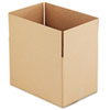 "Fixed-Depth Shipping Boxes, Regular Slotted Container (RSC), 18"" x 12"" x 12"", Brown Kraft, 25/Bundle"