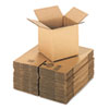 General Supply Brown Corrugated - Cubed Fixed-Depth Shipping Boxes, 8l x 8w x 8h, 25/Bundle - UFS888