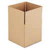 "Cubed Fixed-Depth Shipping Boxes, Regular Slotted Container (RSC), 14"" x 14"" x 14"", Brown Kraft, 25/Bundle"