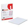 Universal® Mediumweight 16-lb. Filler Paper, 8 1/2 x 11, College Rule, White, 200 Sheets/PK UNV20921