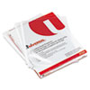 Universal® Top-Load Poly Sheet Protectors, Standard Gauge, Letter, Clear, 50/Pack UNV21124