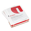 Universal® Top-Load Poly Sheet Protectors, Std Gauge, Nonglare, Clear, 50/Pack UNV21126