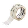 "Universal® Heavy-Duty Acrylic Box Sealing Tape, 48mm x 50m, 3"" Core, Clear, 6/Pack UNV33100"